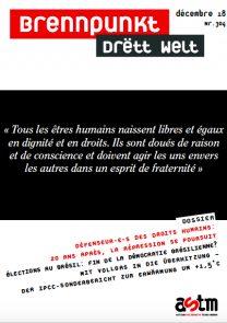 Défenseur-e-s des droits humains: 20 ans après, la répression se poursuit