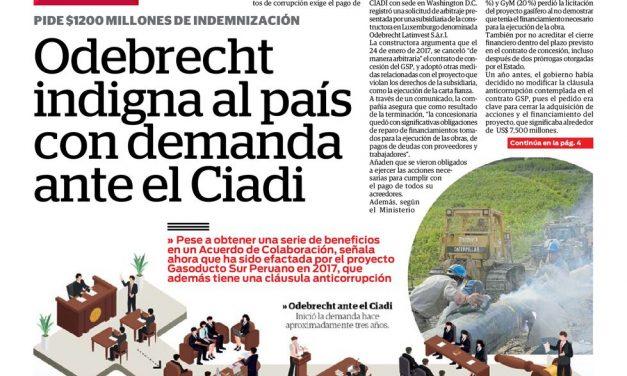 Odebrecht und die Luxemburg-Connection – 2. Episode: Luxemburgische Odebrecht-Filiale klagt gegen Peru vor dem Weltbank-Schiedsgericht
