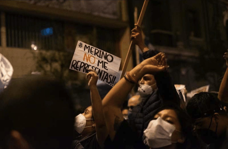 ¿Qué es lo peculiar de la protesta en el Perú del 2020?